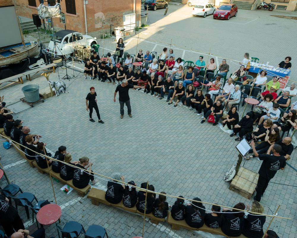 Un'Odissea in Valsamoggia_Teatro delle Ariette_Piazza di Monteveglio_ph.G.B.Parente