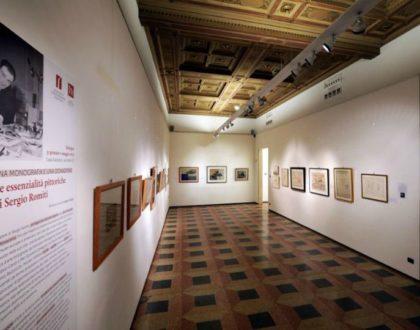 Mostra Una monografia e una donazione. Le essenzialità pittoriche di Sergio Romiti