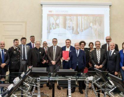 Siglato il protocollo d'intesa per la gestione, la tutela, la conservazione e la fruizione dei Portici di Bologna